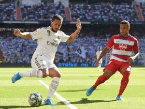 UFABET168s Eden Hazard ยิงประตูแรกให้กับเรอัลมาดริด – การแข่งขันรอบยุโรป